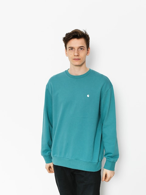 Bluza Carhartt Madison (soft teal/white)