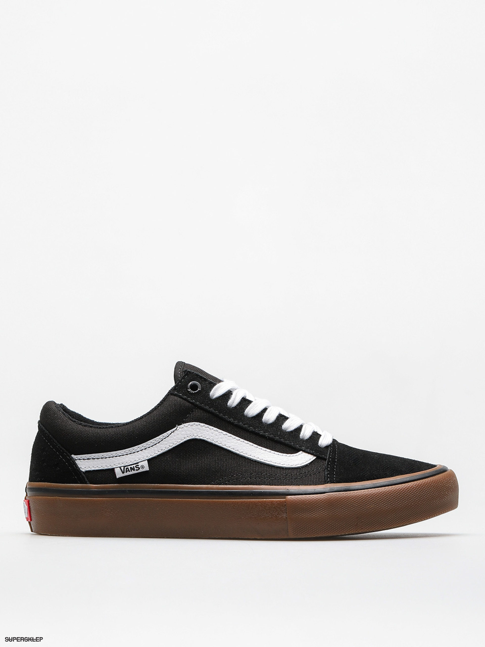 Buty Vans Old Skool Pro (black/white/medium/gum)