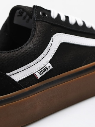 Buty Vans Old Skool Pro (black/white/medium/gum)