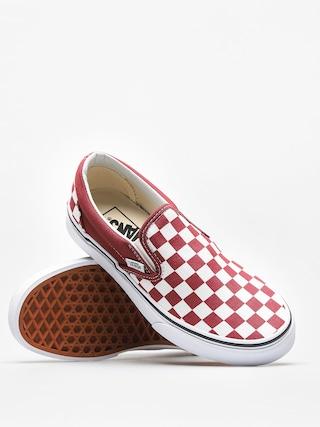 Buty Vans Classic Slip On (checkerboard/apple/butter/true/white)