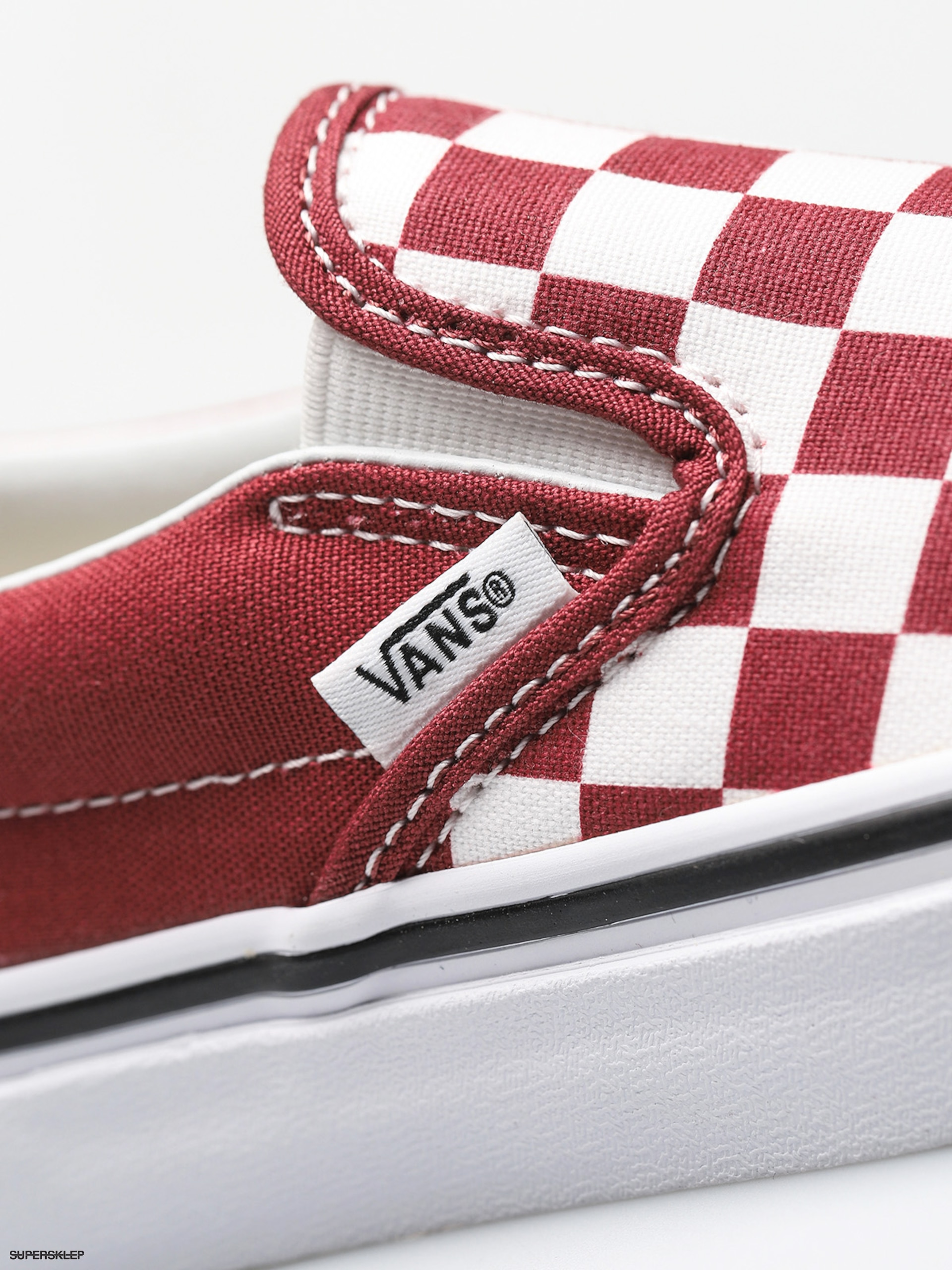 6770422248d4 Buty Vans Classic Slip On (checkerboard apple butter true white)