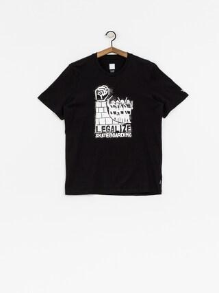 T-shirt adidas Legalize (black/white)