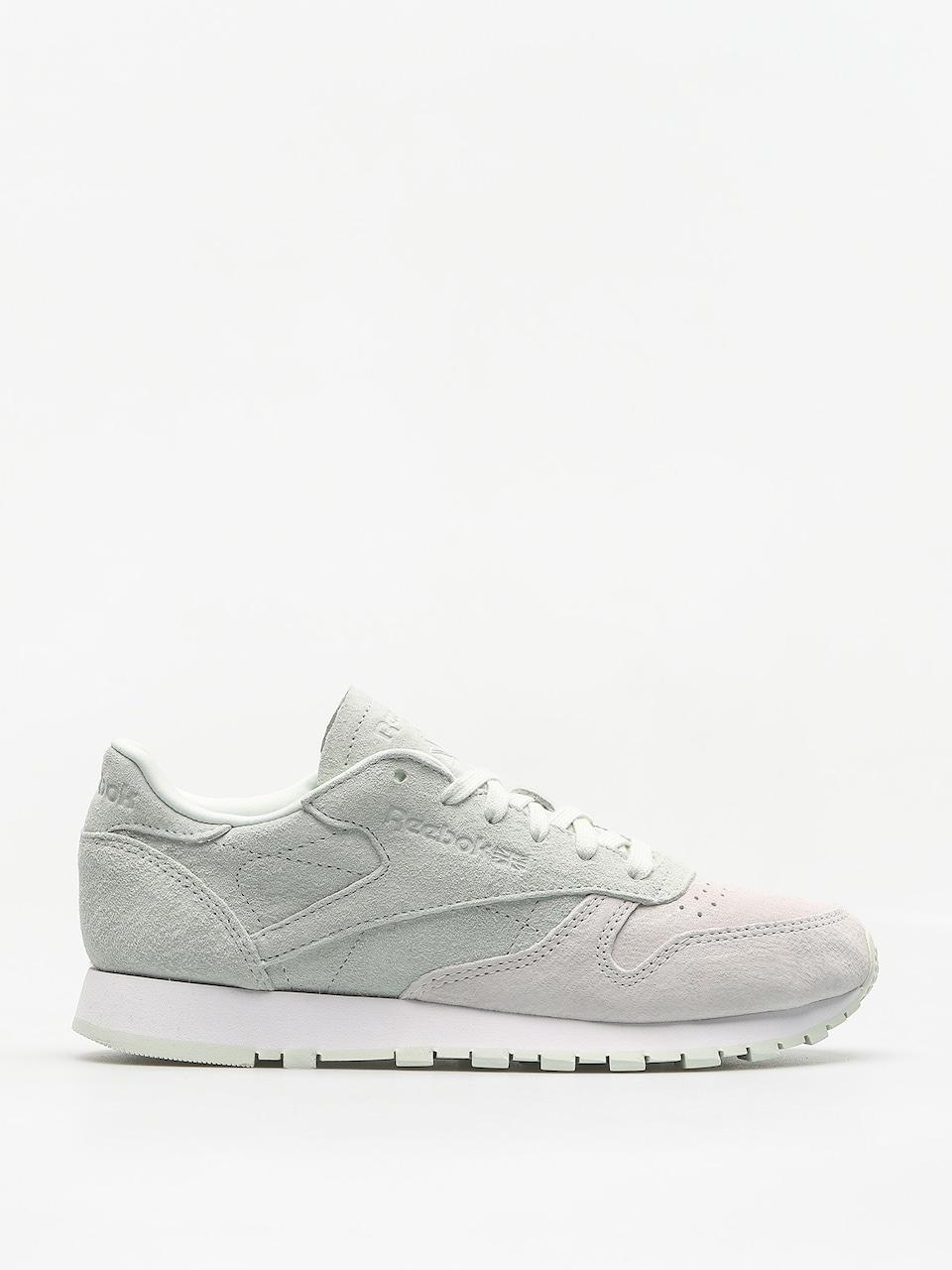 Buty Reebok CL Lthr Nbk BS9861 WhiteOpal Sneakersy