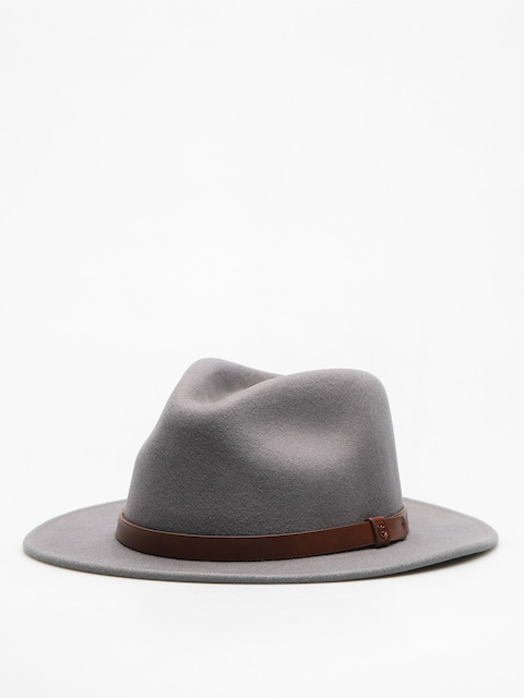 Kapelusz Brixton Messer Fedora (light grey/brown)