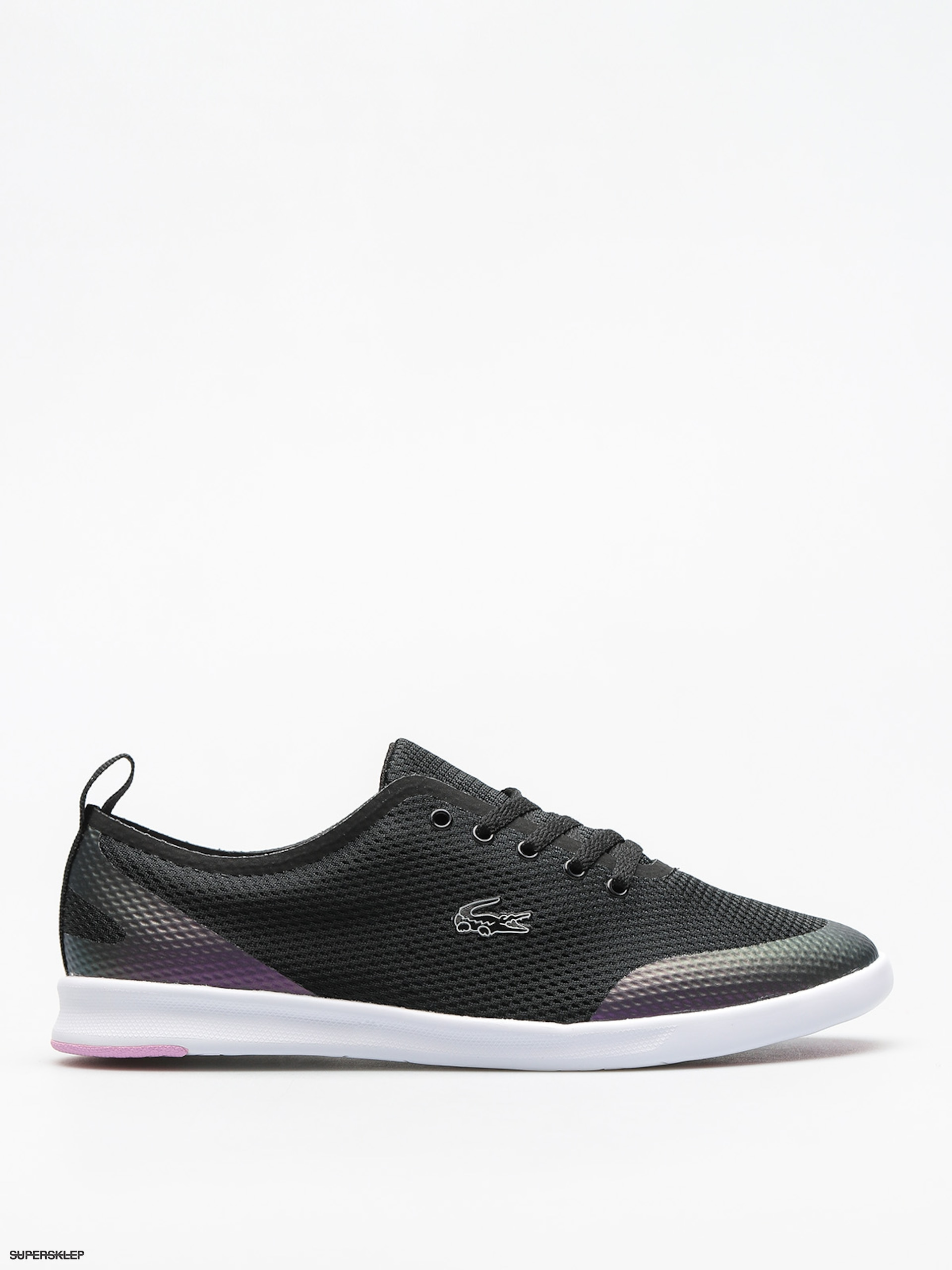 Buty Lacoste Avenir 118 1 Wmn (black/light purple)