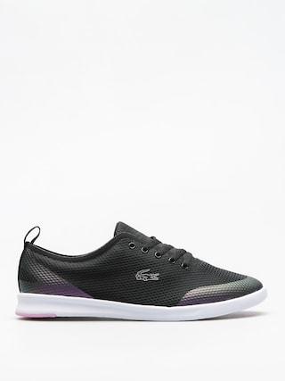 Buty Lacoste Avenir 118 1 Wmn (black/light purple)