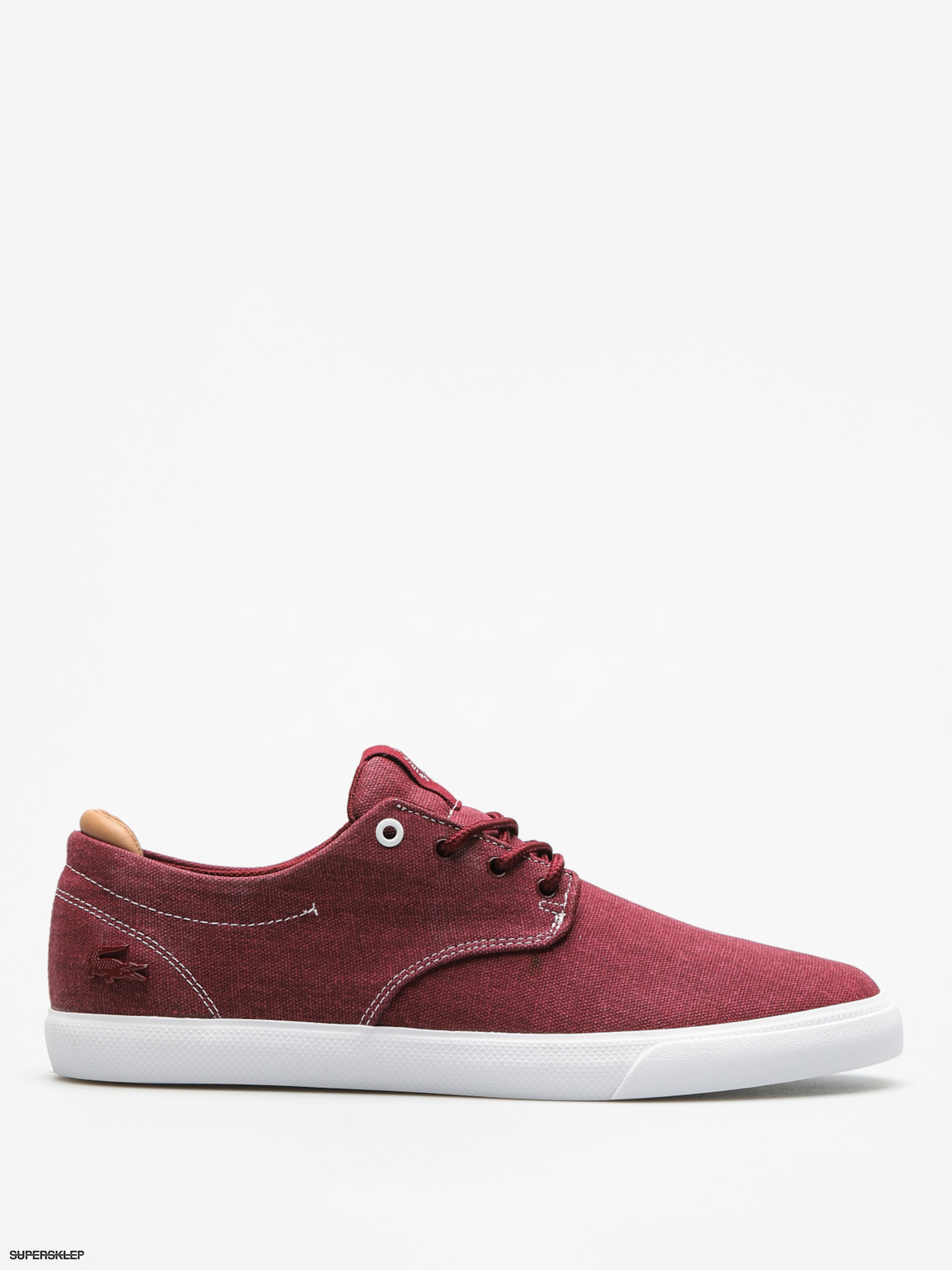 Buty Lacoste Esparre 118 2 (dark red/light tan)