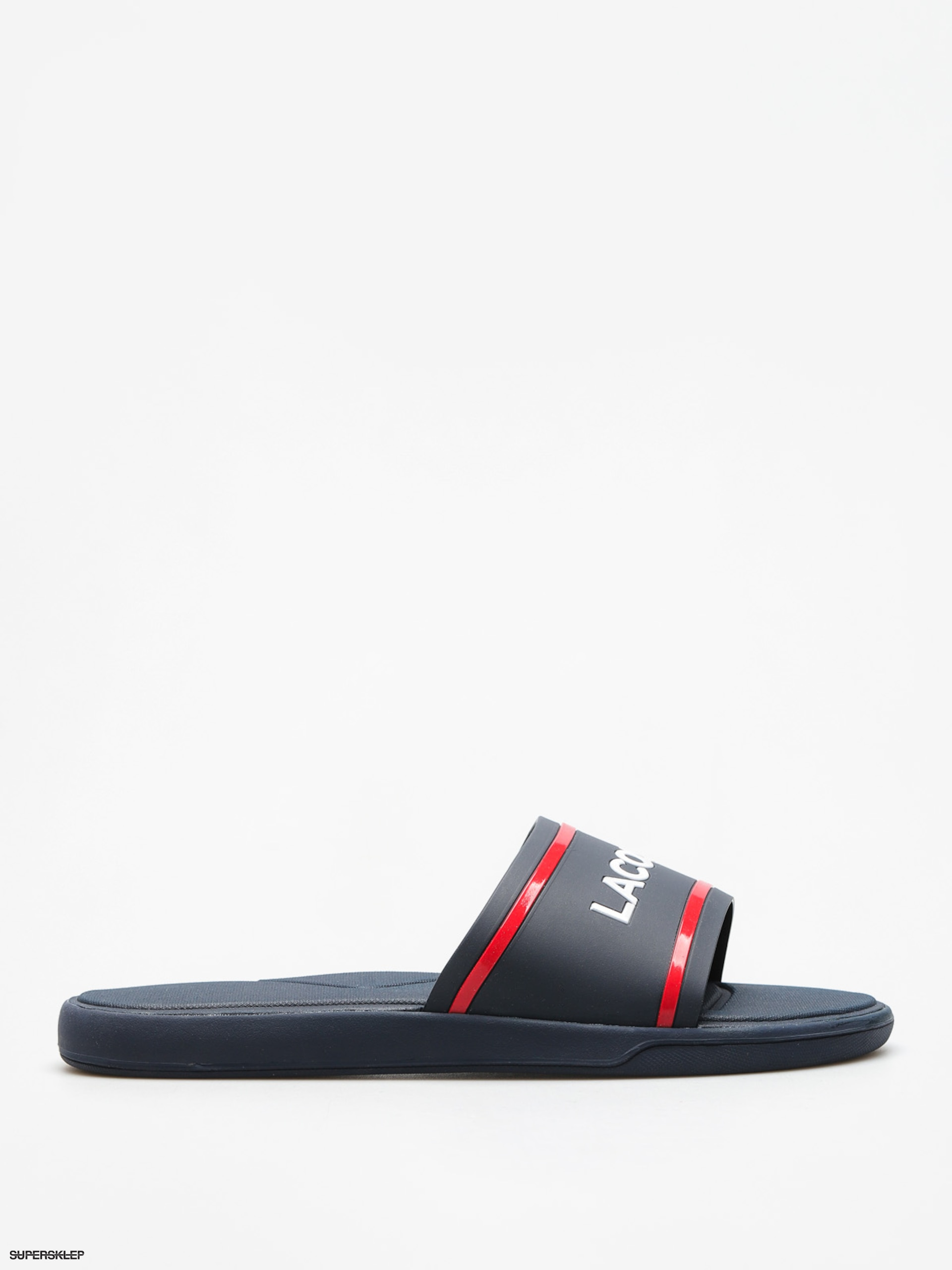 Klapki Lacoste L 30 Slide 118 2 (navy/red)