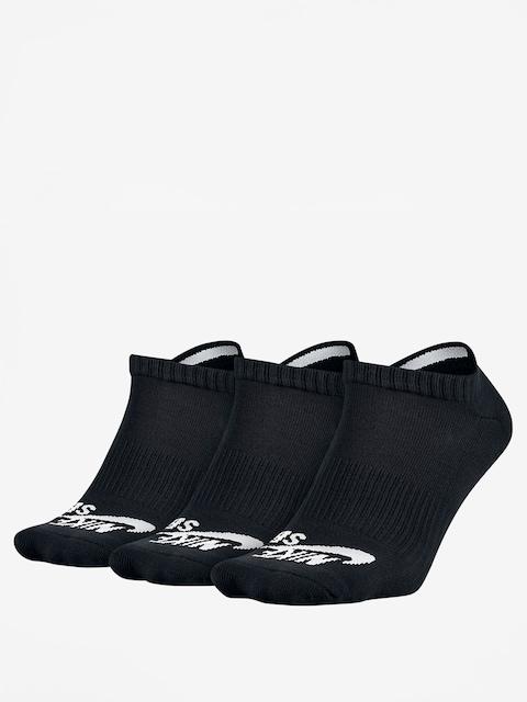 Skarpetki Nike SB No Show 3pk (black)