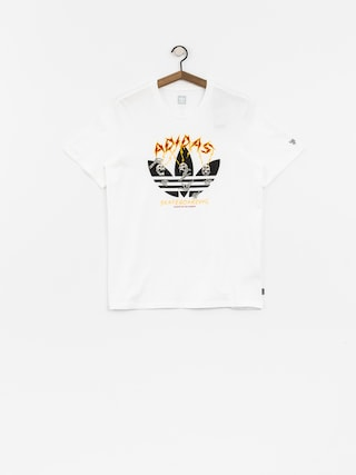 T-shirt adidas Shock (white/black/corang/b)