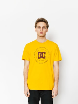 T-shirt DC Rebuilt 2 (old gold/fired brick)