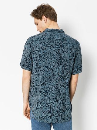 Koszula Quiksilver Variable Short (real teal variable shirt)