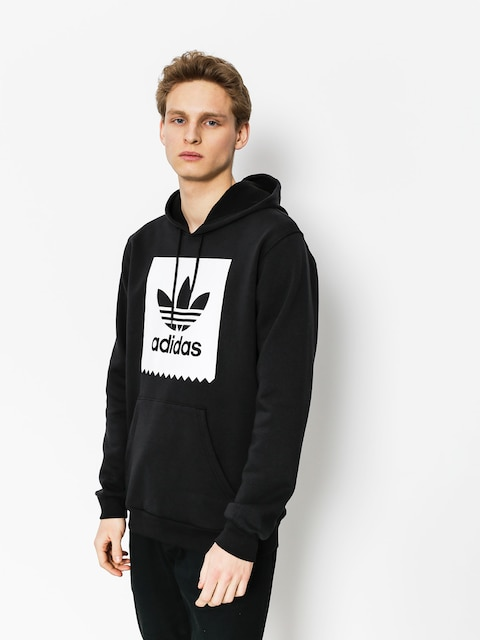 Bluza z kapturem adidas Solid Bb HD (black/white)