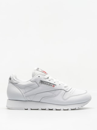 Buty Reebok Cl Leather Wmn (white/carbon/red)