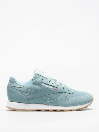 Buty Reebok Cl Leather Estl Wmn (whisper teal/white)