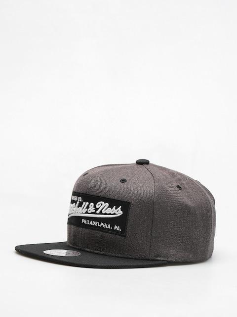 Czapka z daszkiem Mitchell & Ness Box Logo ZD (charcoal/black)