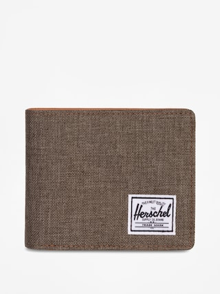 Portfel Herschel Supply Co. Hank Rfid (canteen crosshatch/tan synthetic leather)