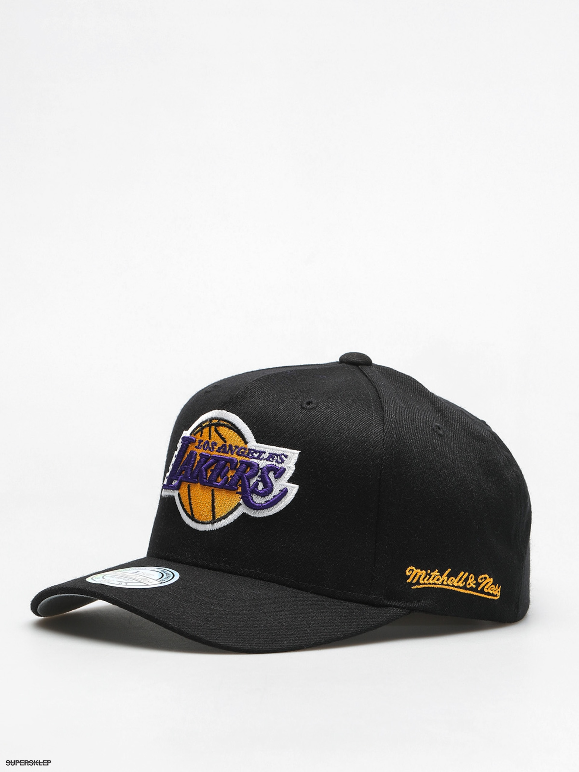 Czapka z daszkiem Mitchell & Ness Los Angeles Lakers ZD (black)