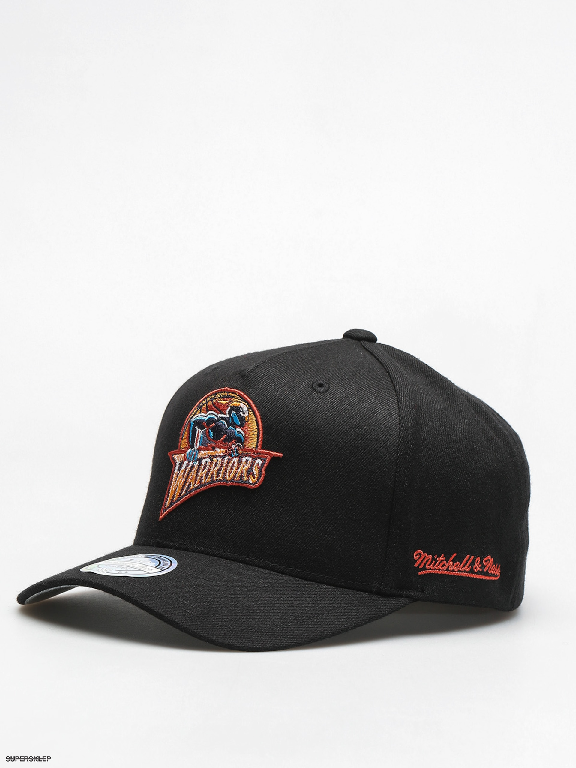 Czapka z daszkiem Mitchell & Ness Gold Warriors ZD (black)
