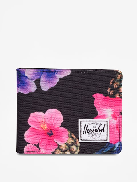 Portfel Herschel Supply Co. Hank Rfid (black pineapple)