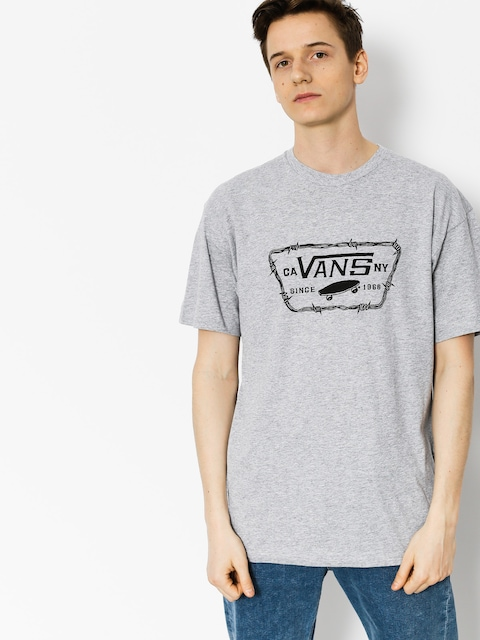 T-shirt Vans Full Patch Barbed (athletic/heather)