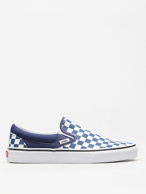 Buty Vans Classic Slip On (checkerboard/estate/blue/true/white)
