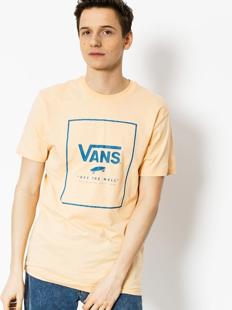 T-shirt Vans Print Box (apricot/ice)
