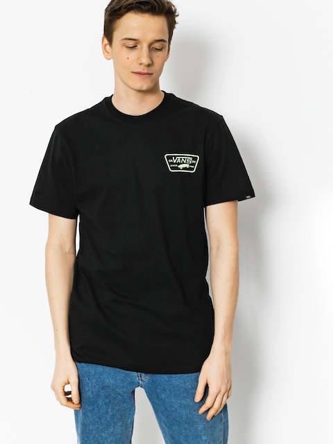 T-shirt Vans Full Patch Back (black ambrosia)