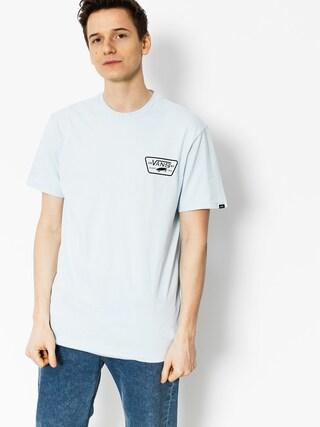 T-shirt Vans Full Patch Back (baby/blue black)