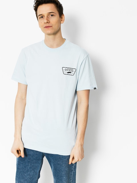 T-shirt Vans Full Patch Back (baby/blue black)