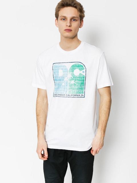 T-shirt DC Sunset Palms (snow white)