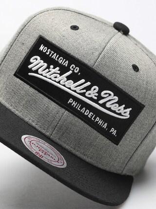 Czapka z daszkiem Mitchell & Ness Logo Mitchell & Ness ZD (grey)