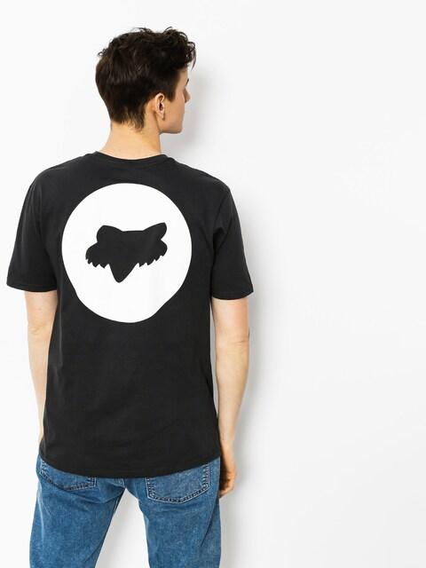 T-shirt Fox Fault Block Premium (blk vin)