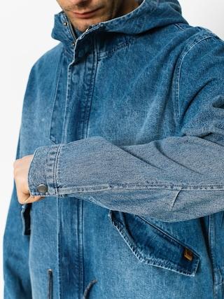 Kurtka Quiksilver Brick Mid Length Denim (blue used)