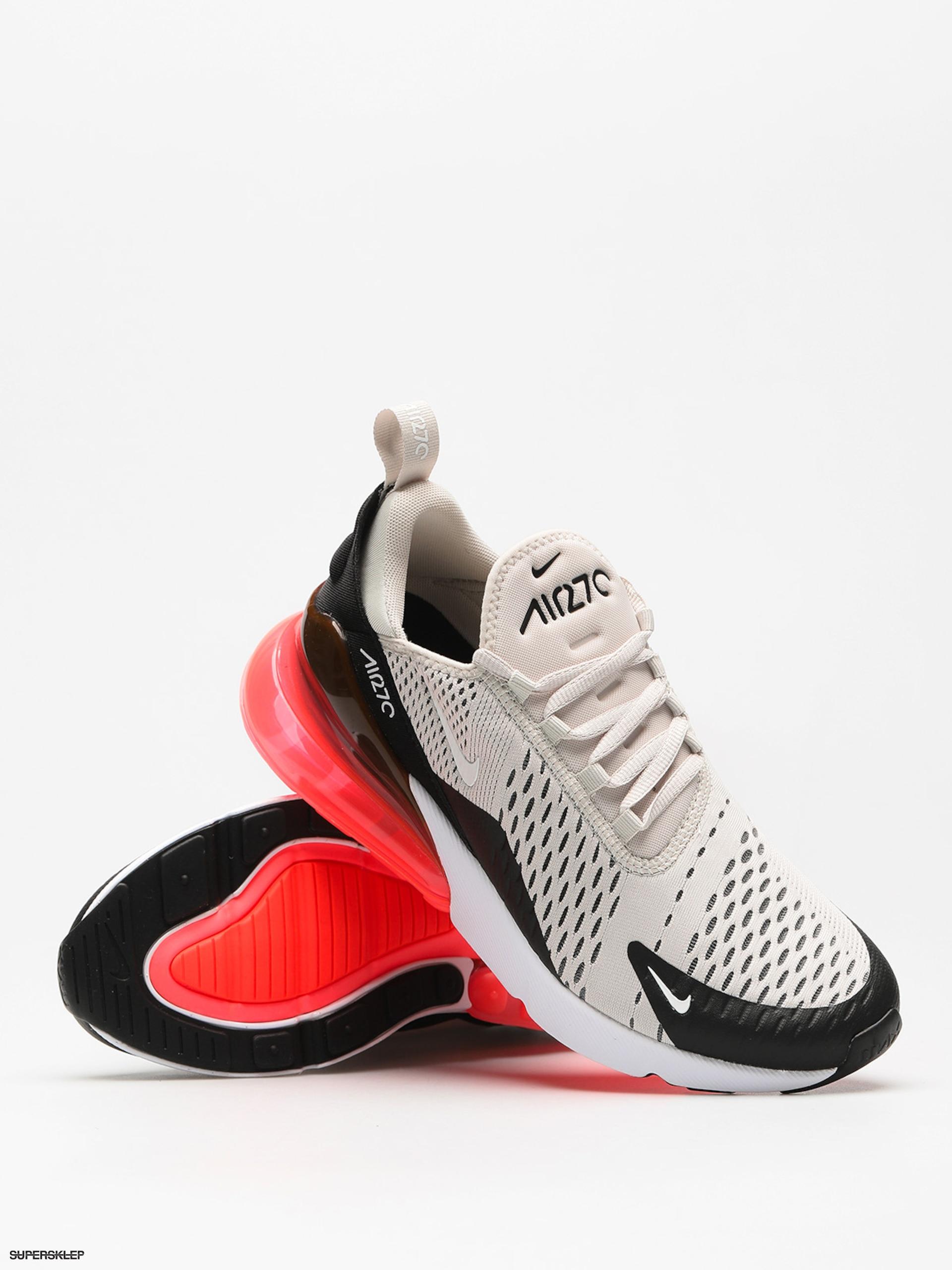 Buty Nike Air Max 270 (blacklight bone hot punch white)