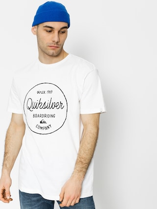 T-shirt Quiksilver Classic Morning Slides (white)