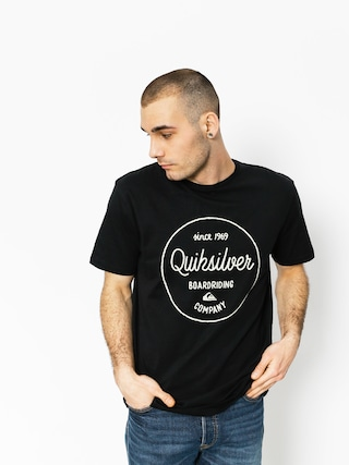 T-shirt Quiksilver Classic Morning Slides (black)