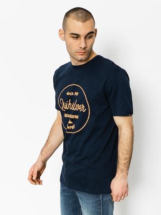 T-shirt Quiksilver Classic Morning Slides (navy blazer)