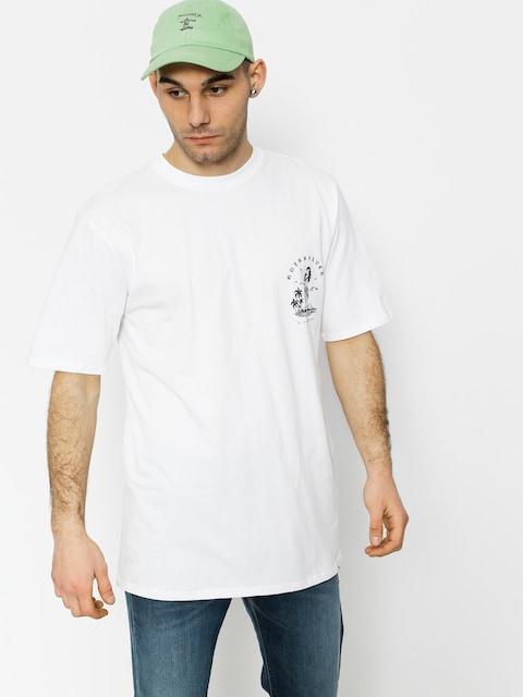 T-shirt Quiksilver Curve Love (white)