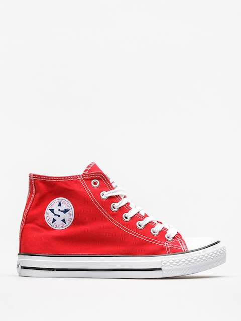 Trampki Smith's Wys Mas 004 (red)