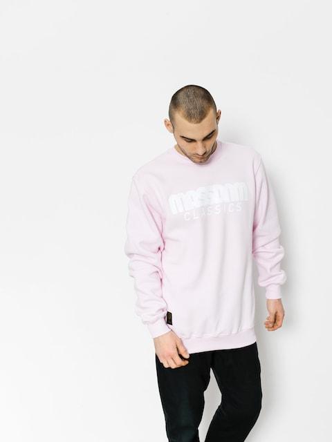 Bluza MassDnm Classics (light pink)