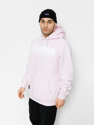 Bluza z kapturem MassDnm Classics HD (light pink)