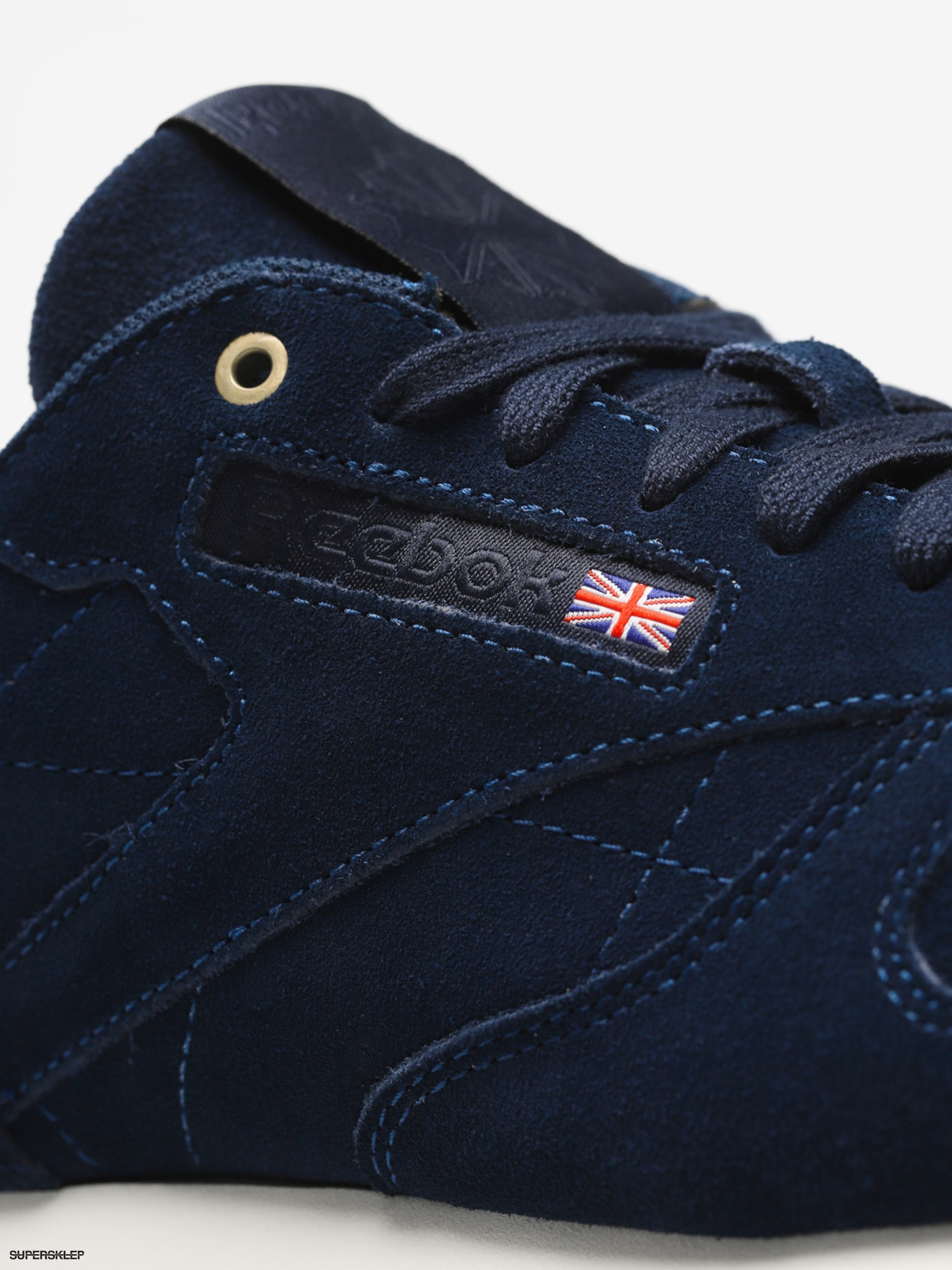 Buty Reebok Cl Leather MCC (blue notechalk)