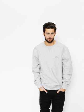 Bluza Stussy Stock LS Terry (grey heather)