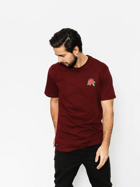 T-shirt Nervous Rose (maroon)
