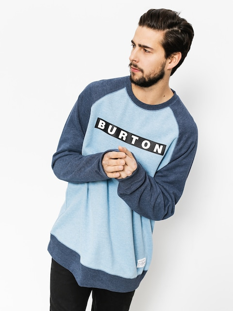 Bluza Burton Vault Crew (blue heaven heather)