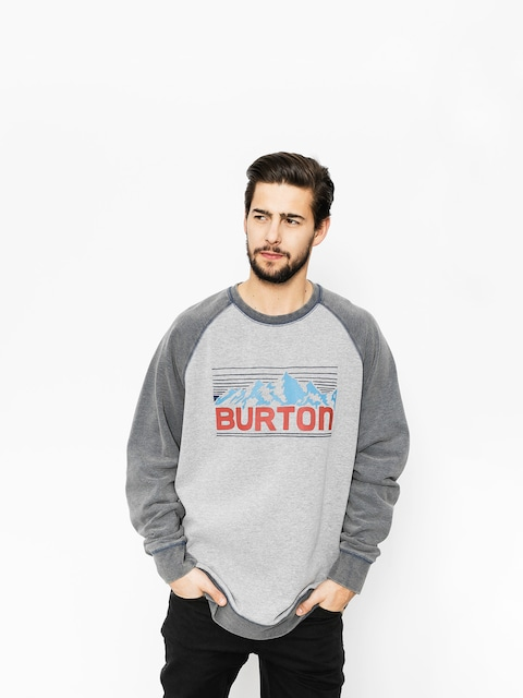 Bluza Burton Vista Crew (gray heather)