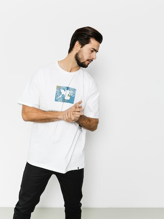T-shirt XLARGE Leaf Xl (white)