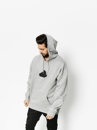 Bluza z kapturem XLARGE Old Og HD (grey heather)