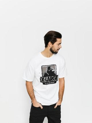 T-shirt XLARGE Stencil (white)